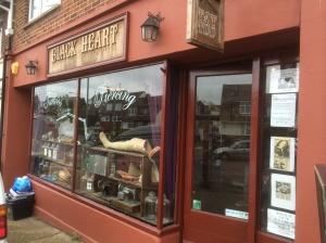 Black Heart Tattoo Saloon in Mile Oak, Brighton