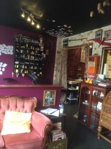 Black Heart Tattoo Saloon inside